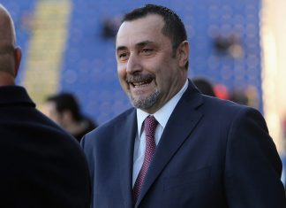 Massimiliano Mirabelli before Cagliari-Milan at Stadio Sant'Elia on January 21, 2018. (Photo by Enrico Locci/Getty Images)