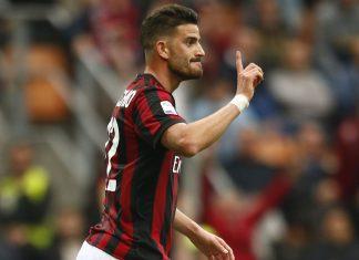 Mateo Musacchio during Milan-Napoli at Stadio San Siro on April 15, 2018. (@acmilan.com)