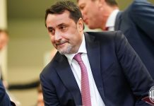Massimiliano Mirabelli before Milan-Benevento at Stadio San Siro on April 21, 2018. (@acmilan.com)