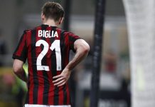 Lucas Biglia during Milan-Benevento at Stadio San Siro on April 21, 2018. (@acmilan.com)