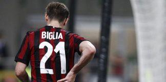 Lucas Biglia during Milan-Benevento at Stadio San Siro on April 21, 2018. (@acmilan.com)