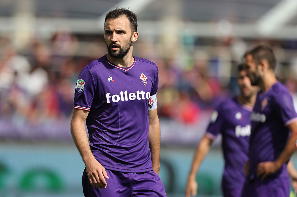 Milan Badelj during Fiorentina-Cagliari at Stadio Artemio Franchi on May 13, 2018. (Photo by Gabriele Maltinti/Getty Images)