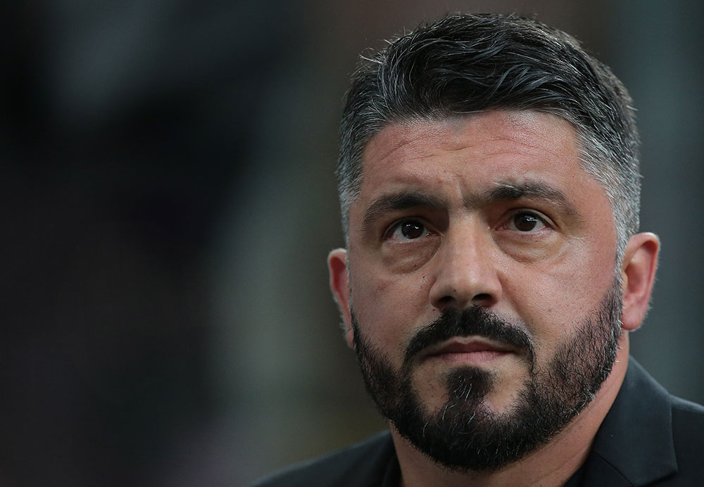 Gennaro Gattuso during Milan-Fiorentina at Stadio San Siro on May 20, 2018. (Photo by Emilio Andreoli/Getty Images)
