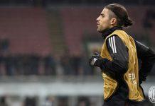 Ricardo Rodriguez before Milan-Ludogorets at Stadio San Siro on February 22, 2018. (@acmilan.com)