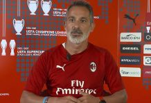 Bruno Dominici speaking to MilanTV on July 14, 2018. (@acmilan.com)