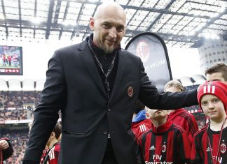 Christian Abbiati before Milan-Chievo at Stadio San Siro on March 18, 2018. (@acmilan.com)