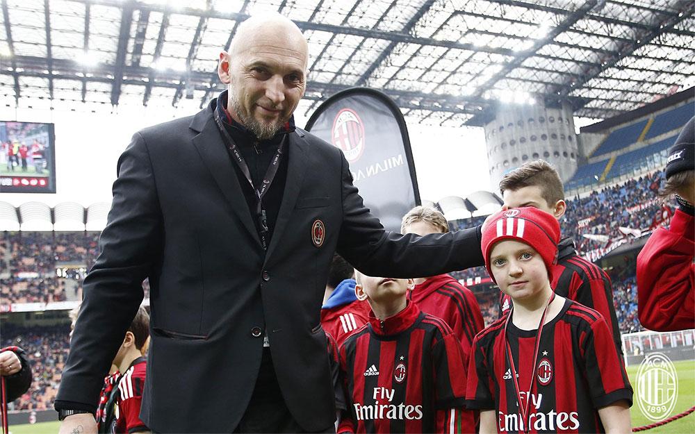 Christian Abbiati before Milan-Chievo at Stadio San Siro on March 18, 2018. (@acmilan.com)
