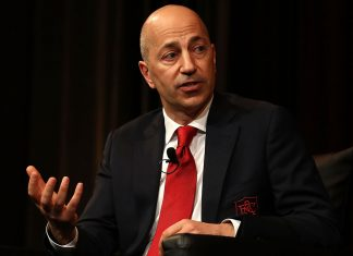 Arsenal CEO Ivan Gazidis spearking during the Western Sydney Wanderers Gold Star Luncheon at The Westin on July 14, 2017 in Sydney, Australia. (Photo by Ryan Pierse/Getty Images)