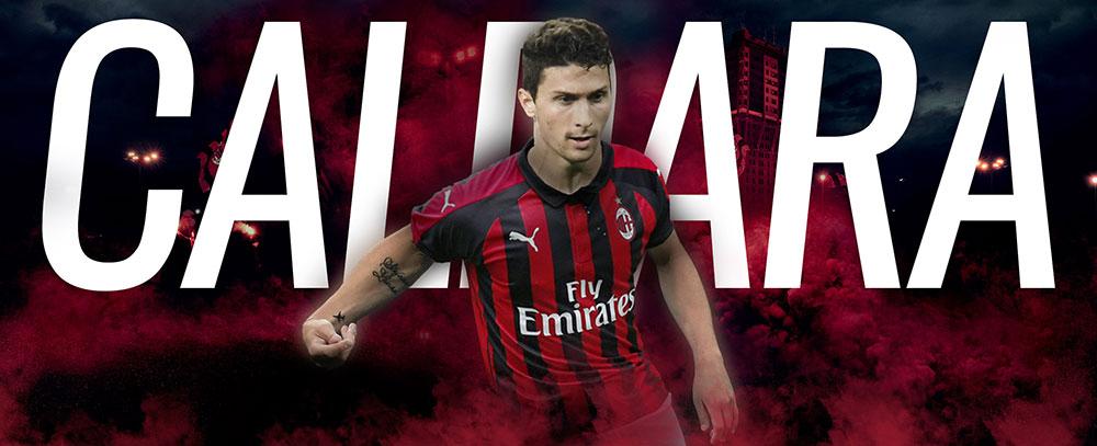Mattia Caldara is a Milan player. (@acmilan.com)