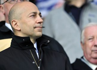 Ivan Gazidis before QPR-Arsenal at Loftus Road on May 4, 2013. (GLYN KIRK/AFP/Getty Images)