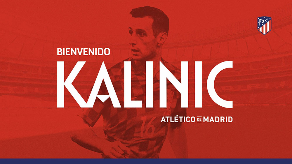 Nikola Kalinic at Atletico Madrid. (@atleticodemadrid.com)