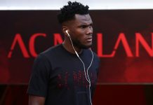 Franck Kessié before Milan-Atalanta at Stadio San Siro on September 23, 2018. (@acmilan.com)