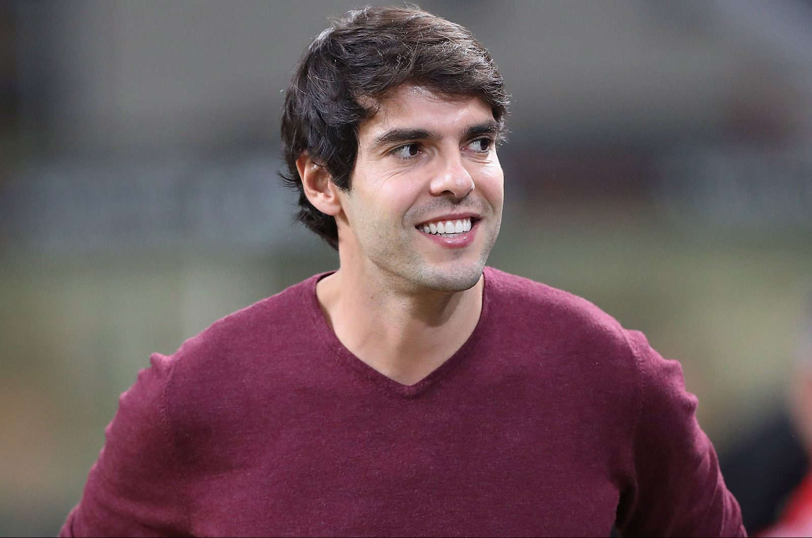 Kaká before Milan-Roma at Stadio San Siro on August 31, 2018. (Photo by Marco Luzzani/Getty Images)