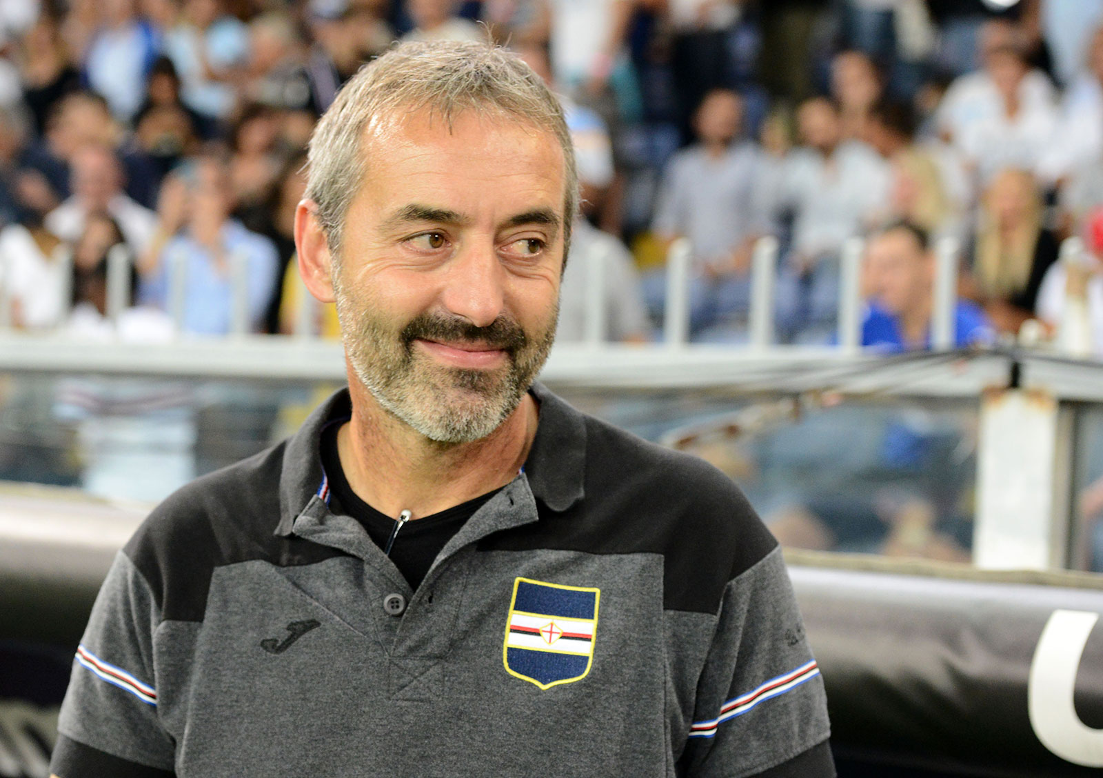 Marco Giampaolo during Sampdoria-Inter at Stadio Luigi Ferraris on September 22, 2018. (Photo by Paolo Rattini/Getty Images)