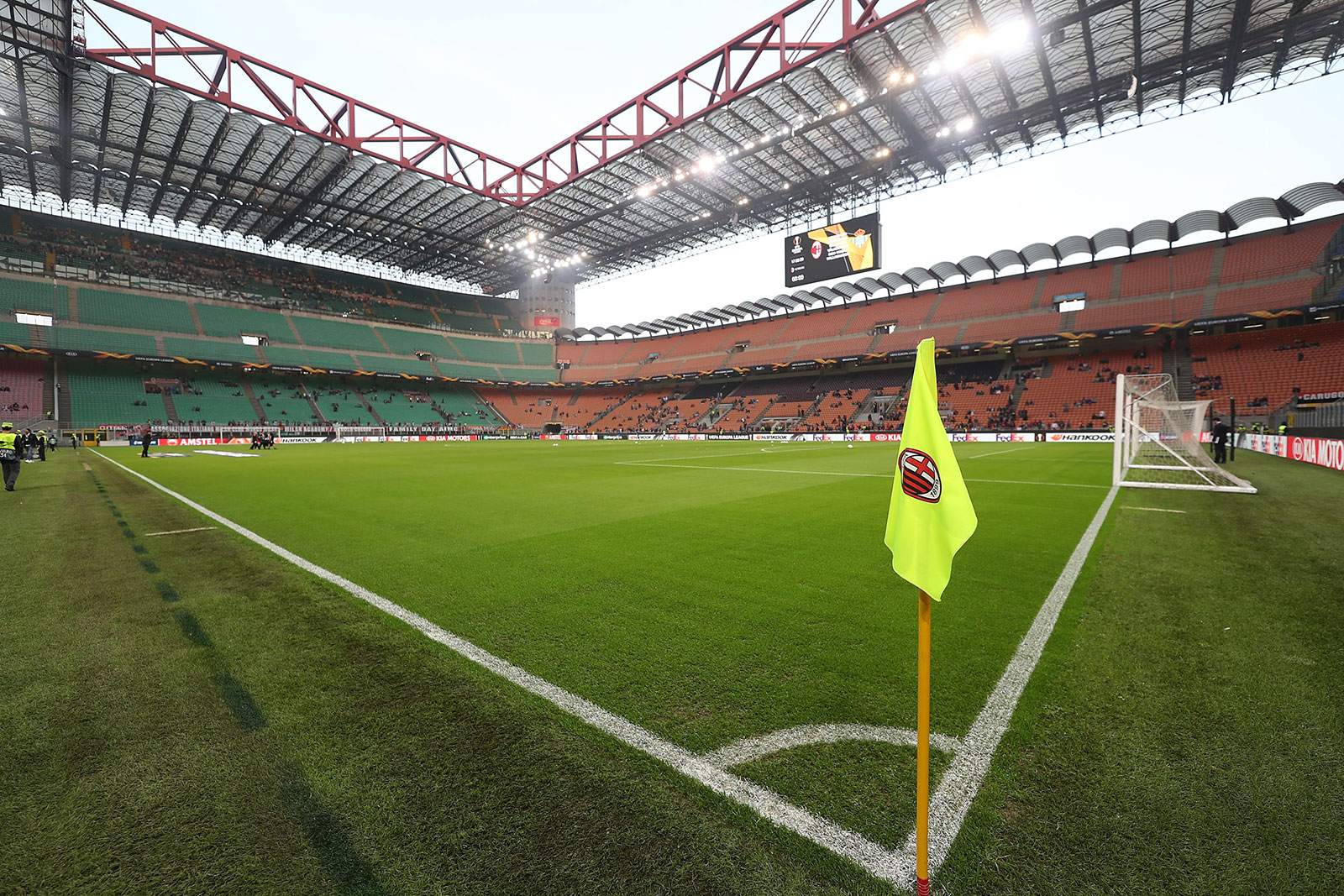 Stadio San Siro before Milan-Real Betis at Stadio San Siro on October 25, 2018. (Photo by Marco Luzzani/Getty Images)