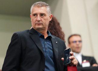 Daniele Massaro before Milan-Roma at Stadio San Siro on August 31, 2018. (@acmilan.com)