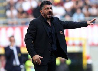 Gennaro Gattuso during Milan-Chievo at Stadio San Siro on October 7, 2018. (@acmilan.com)