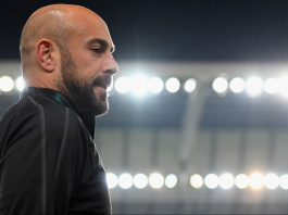 Pepe Reina before Udinese-Milan at Stadio Friuli on November 4, 2018. (Photo by Alessandro Sabattini/Getty Images)