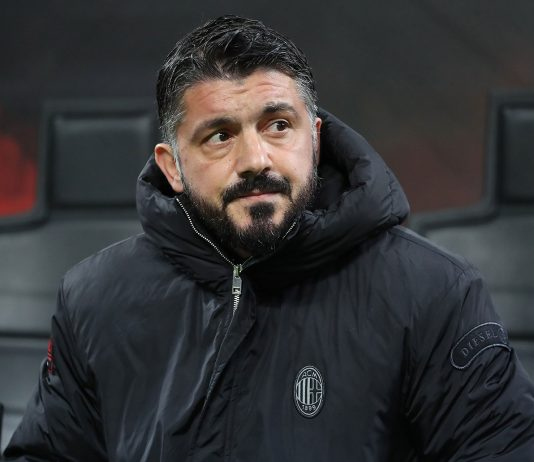 Gennaro Gattuso during Milan-Torino at Stadio San Siro on December 9, 2018. (Photo by Marco Luzzani/Getty Images)