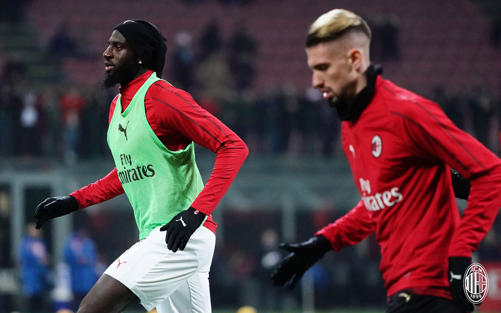 Tiémoué Bakayoko before Milan-Napoli at Stadio San Siro on January 29, 2019. (@acmilan.com)
