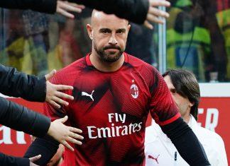 Pepe Reina before Milan-Lazio at Stadio San Siro on April 24, 2019. (@acmilan.com)