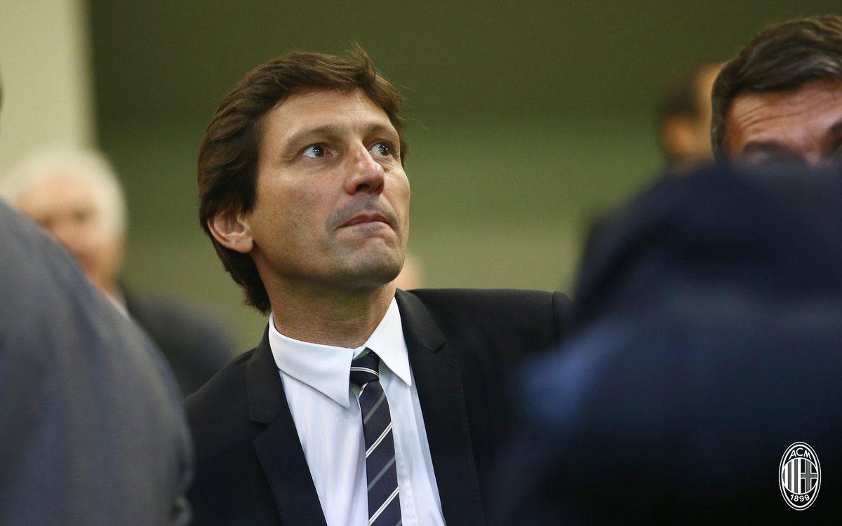 Leonardo during Milan-Real Betis at Stadio San Siro on October 25, 2018. (@acmilan.com)