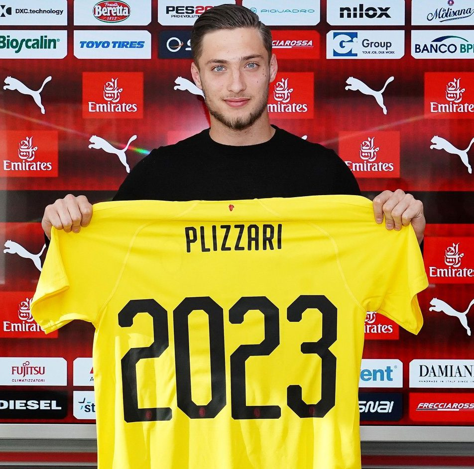 Official: Plizzari extends his Milan contract to 2023 | Rossoneri ...