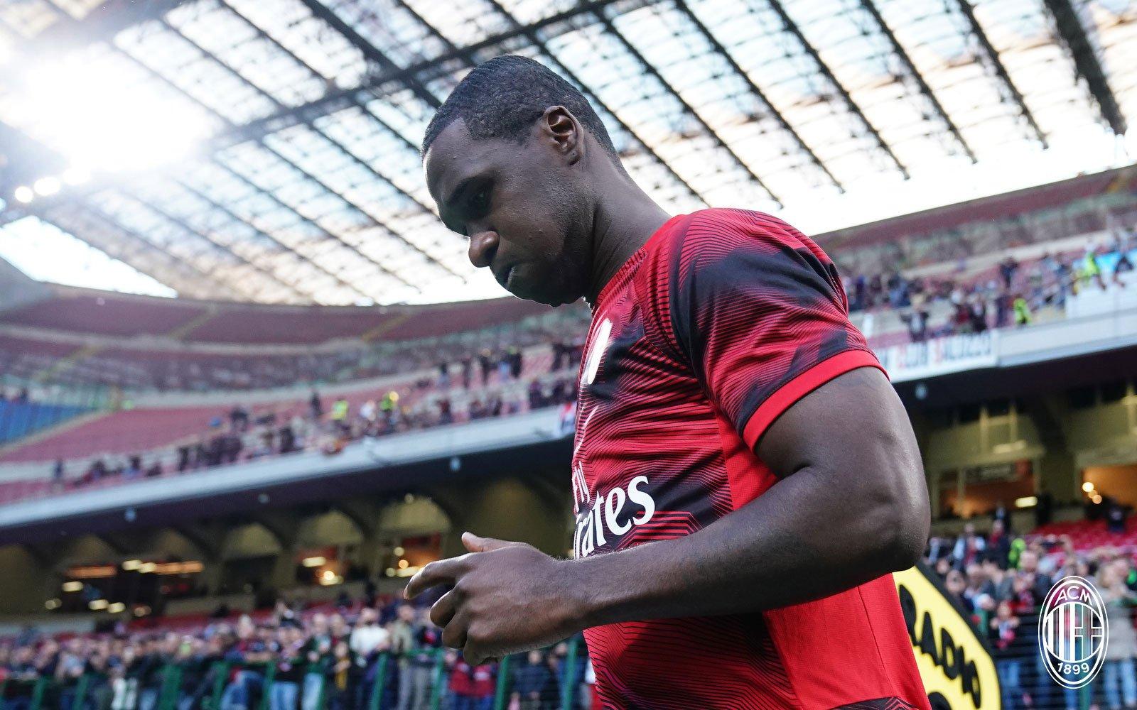Cristian Zapata before Milan-Bologna at Stadio San Siro on May 6, 2019. (@acmilan.com)