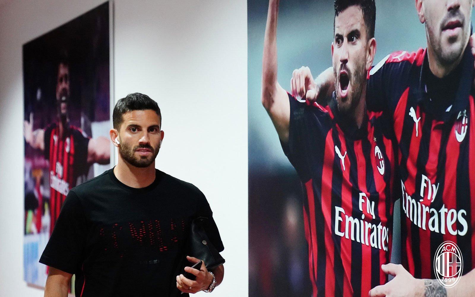 Mateo Musacchio before Milan-Bologna at Stadio San Siro on May 6, 2019. (@acmilan.com)