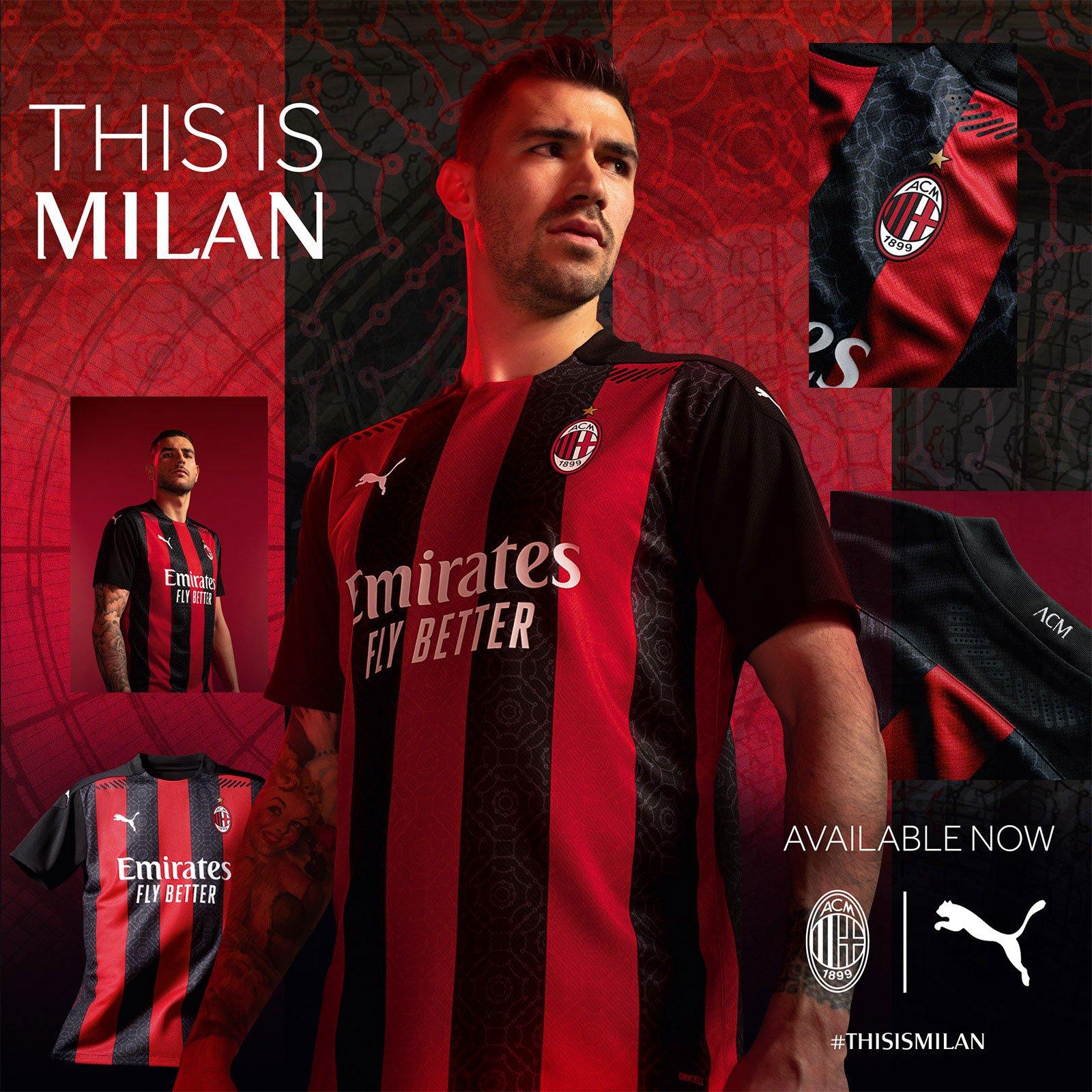 Pictures Milan Unveil 2020 21 Home Kit Rossoneri Blog Ac Milan News