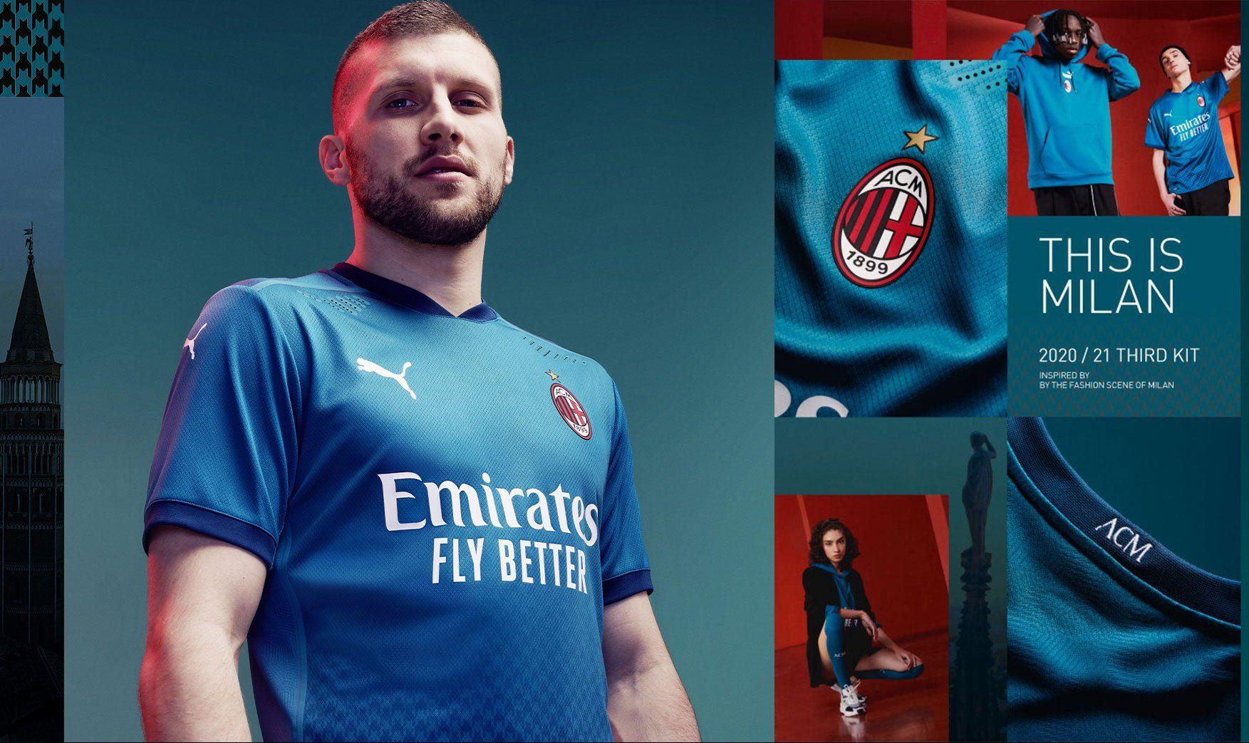 Pictures Milan Unveil 2020 21 Third Kit Rossoneri Blog Ac Milan News