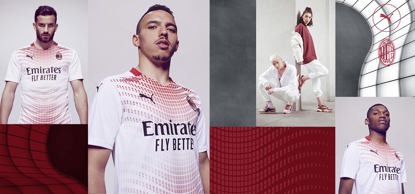 Pictures Milan Unveil 2020 21 Away Kit Rossoneri Blog Ac Milan News