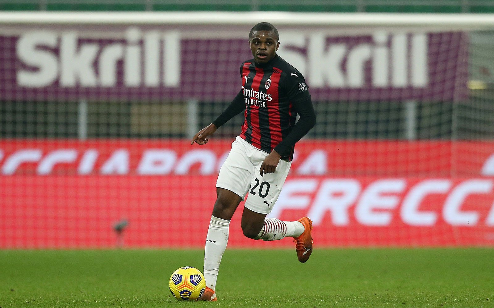 """Kalulu's agent, Marinho: """"He was happy with his debut in the league, we expect him to stay in Milano for a long time""""   Rossoneri Blog - AC Milan News"""