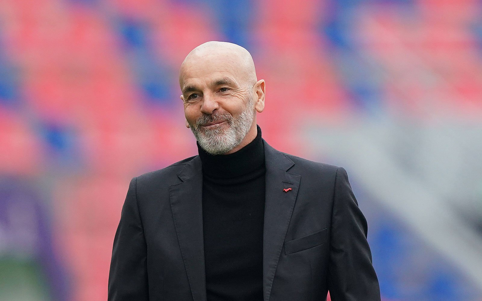 """Pioli: """"This is a win that boosts our confidence, every game must be  fought, Leão is no longer a surprise, Rebić knows how important he is to  us""""   Rossoneri Blog -"""
