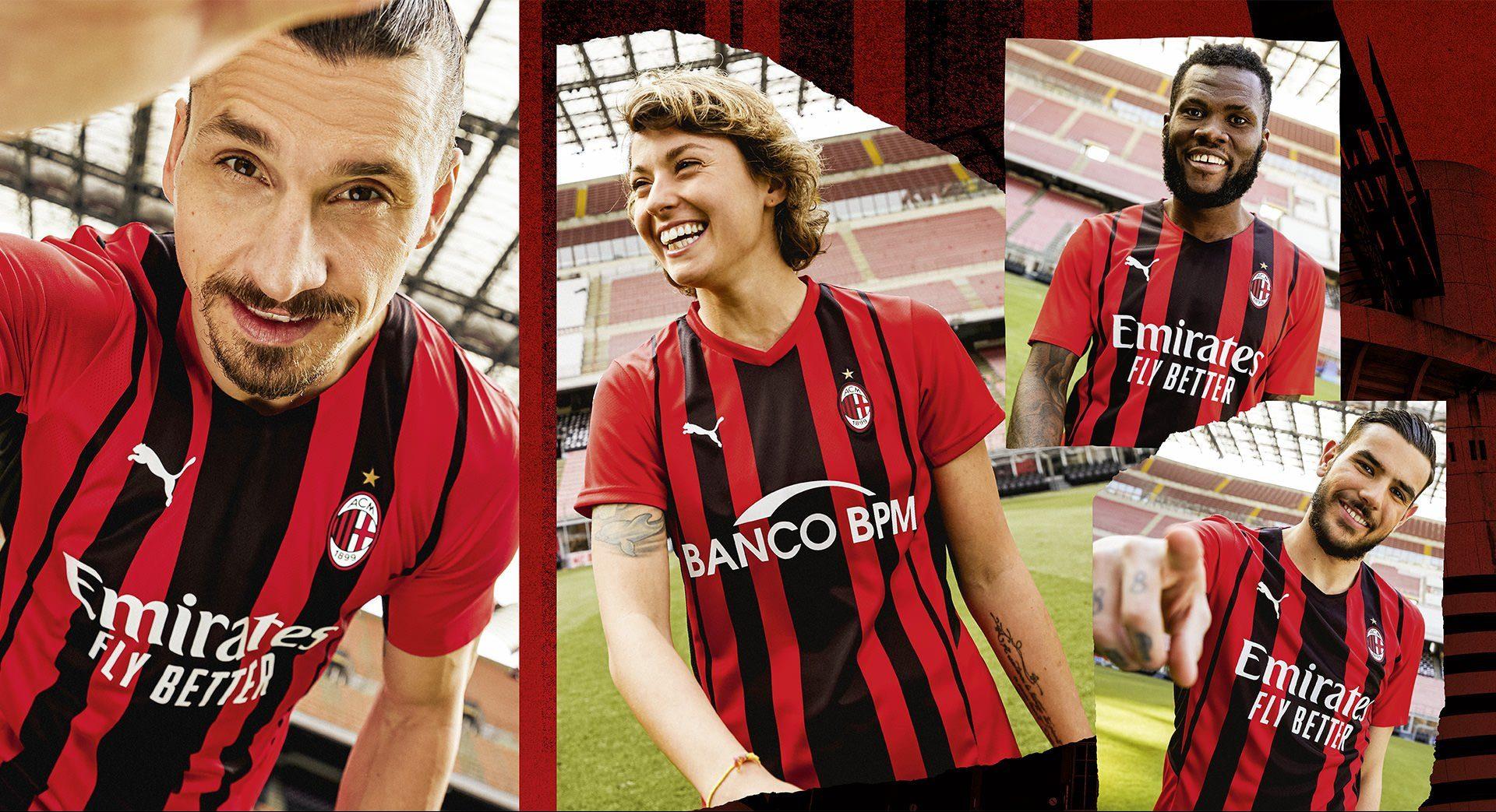 Zlatan Ibrahimović, Valentina Giacini, Franck Kessié and Theo ...
